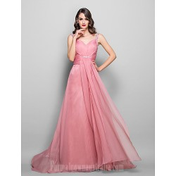 Australia Formal Dress Evening Gowns Prom Gowns Military Ball Dress Pearl Pink Plus Sizes Dresses Petite A Line Sweetheart Long Floor Length Chiffon